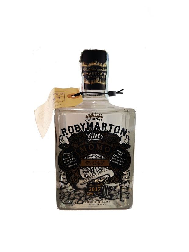 Recensione Roby Marton Gin Momo Single Botanical