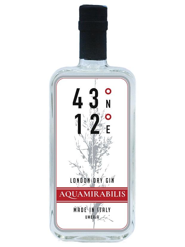 Recensione 43°12° Aquamirabilis Gin