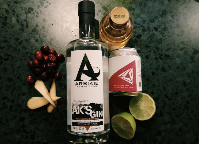 Arbikie AK Gin