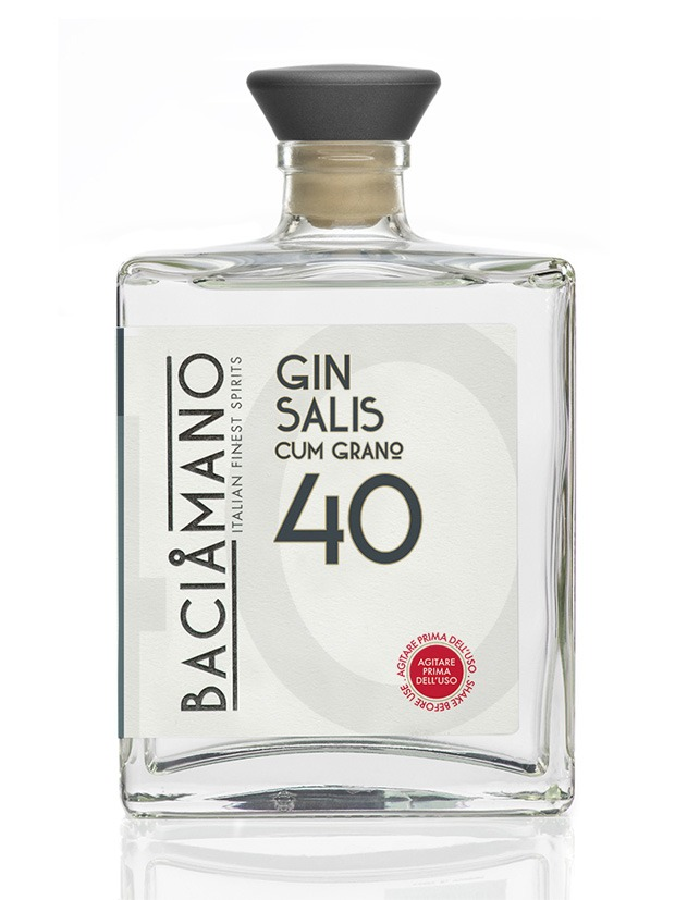 Recensione Baciamano (cum grano) Salis Gin 40