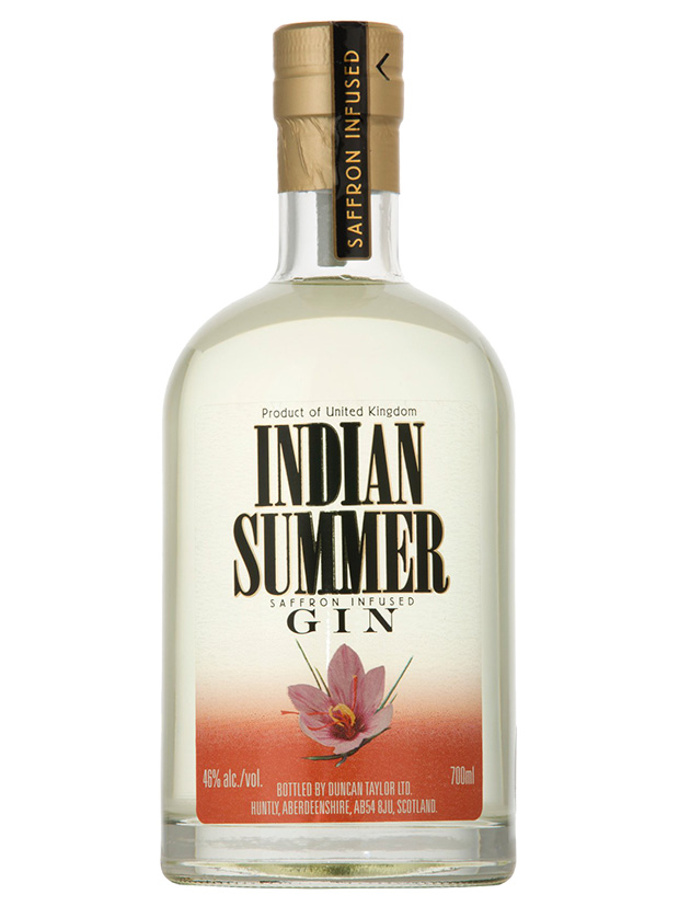 Recensione Indian Summer Saffron Infused Gin