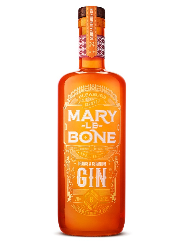 Recensione Mary Le Bone Orange & Geranium Gin