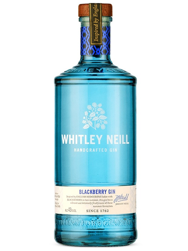 Recensione Whitley Neill Blackberry Gin