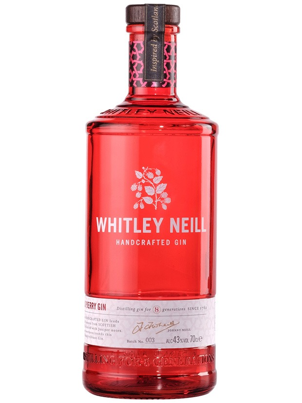 Recensione Whitley Neill Raspberry Gin