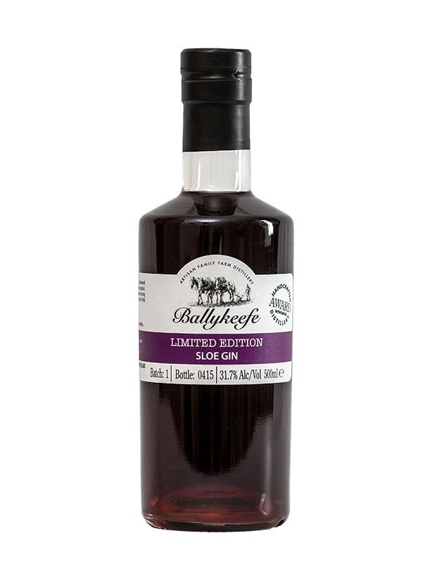 Ballykeefe-Sloe-Gin-bottiglia