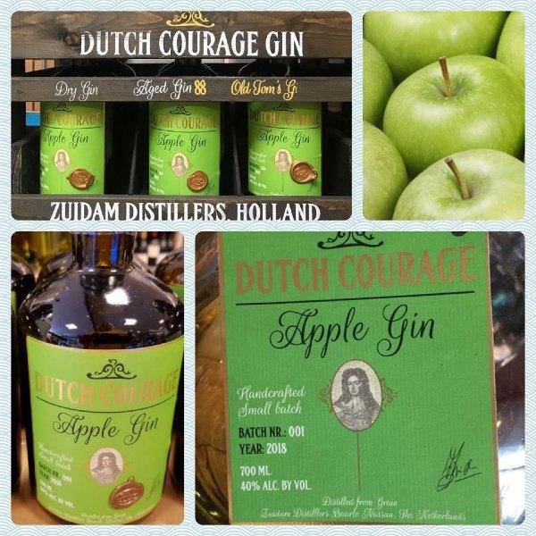 dutch courage apple gin