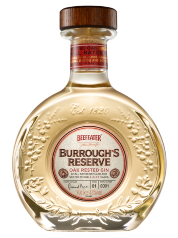 Recensione Beefeater Burrough Reserve Oak Rested Gin