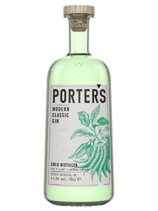 Recensione Porter's Modern Classic Gin