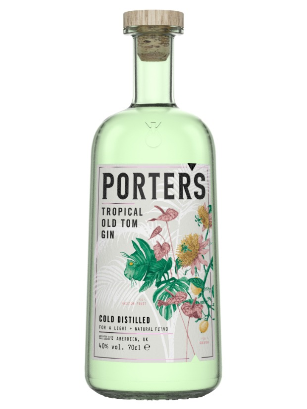 Recensione Porter's Tropical Old Tom Gin