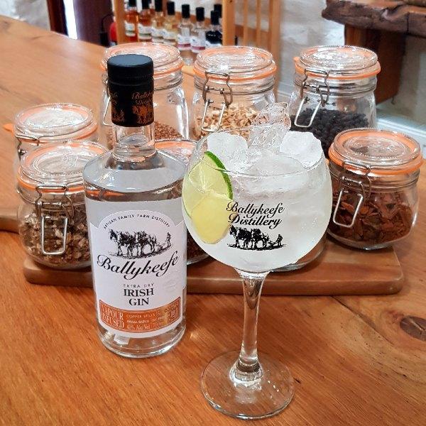 Ballykeefe Extra Dry irish Gin