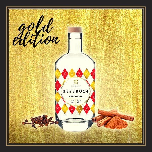 25zero14 gin Gold Edition